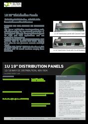 Datasheet-1U-19inch-Distrib