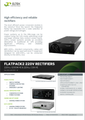 Datasheet Flatpack V Re