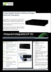 Datasheet Flatpack2 2U Inte