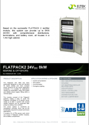 Datasheet Flatpack2 8kW Int
