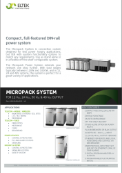 Datasheet Micropack System