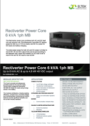 Datasheet-Rectiverter-Power