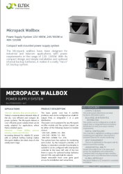 Micropack-Wallbox